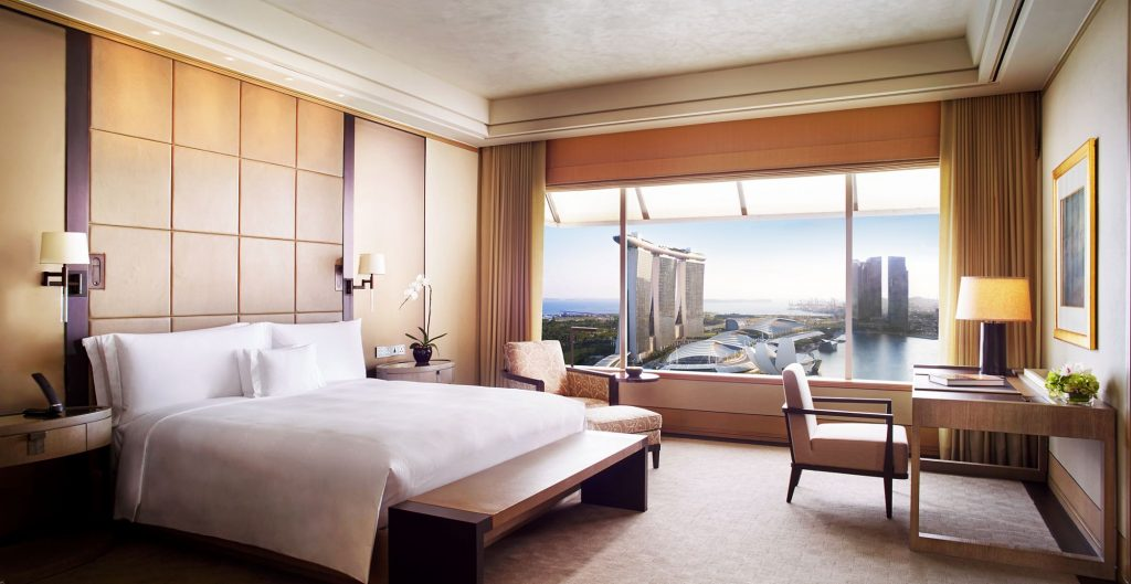 ritz carlton suite singapore
