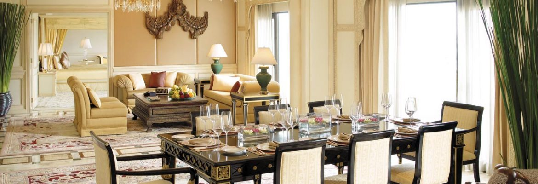 Presidential Suite – Shangri-La Hotel Bangkok Krungthep Wing