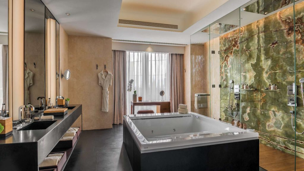 Bvlgari suite at bulgari hotel beijing china