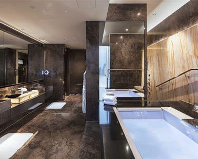 Hilton hotel guangzhou tianhe presidential suite