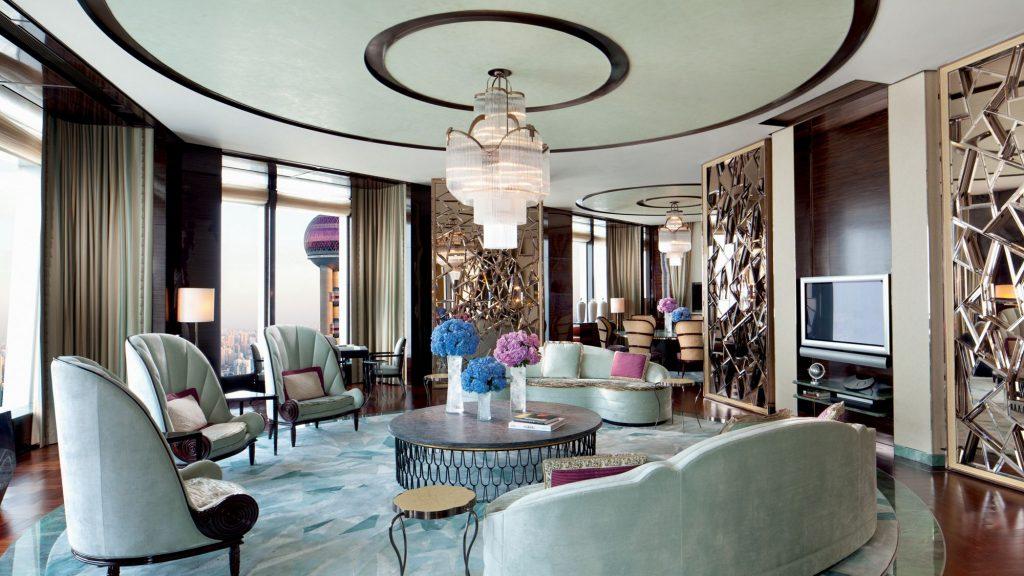 ritz carlton shanghai suite