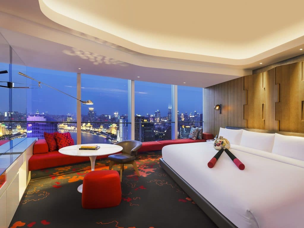 w hotel shanghai extreme wow suite