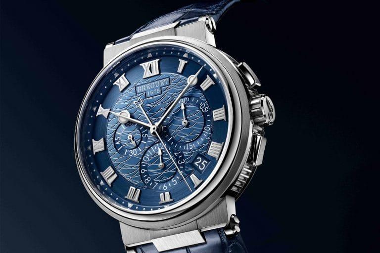 Breguet la marine chronograph 5527
